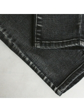 Euro Style Hollow Out Slim Jeans