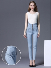 Autumn Hot Sale High Waist Jeans For Women