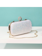 Fashion Sequined Ring Design Single-shoulder Bags For Party - Selerit