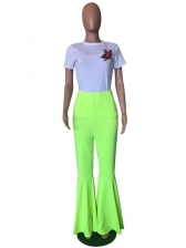 Hot Sale Solid Flare Pants For Women - Selerit