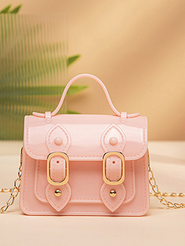 New Arrival Solid Chain Shoulder Bag For Women